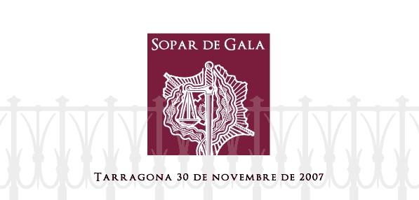 Cena Gala 2007 Colegio De Graduados Sociales De Tarragona